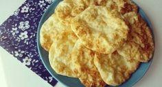 Tvarohové placky bez múky ako náhrada pečiva - Receptik.sk Gluten Free Baking, Apple Pie, Food And Drink, Low Carb, Keto, Yummy Food, Bread, Homemade, Meals