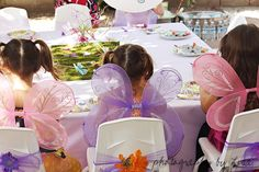 Butterfly themed party - Love this