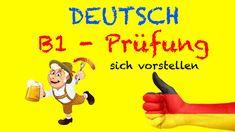 Deutsch B1 / B2 - Mündliche Prüfung: sich vorstellen | Deutsch lernen fü...