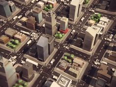 Dribbble - Quick City by level2d