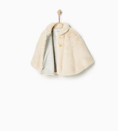 Cape OUTERWEAR-Baby girl-Baby | 3 months - 3 years-KIDS | ZARA United States