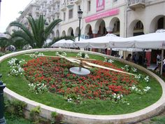 Clock at Aristotelous square, Thessaloniki Greece Tourism, Travel Magazines, Thessaloniki, Dolores Park, Clock, Explore, Mansions, House Styles, Photos