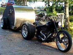 Trike w/ trailer