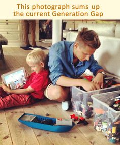 Sums up the current generation gap | I Love Funny Pics