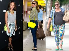 Hello, yellow! See why neon bags are the latest must-haves for summer.