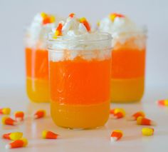 The Candy Corn Punch ...A Tasty and Easy-to-Make Halloween Snack - Wow Amazing