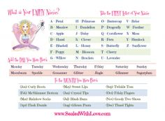 generator and let me know what yyour fairy name is lots of fun more