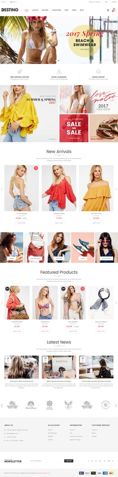 Destion is Premium full Responsive Retina Parallax #OpencartTheme. If you like this #BootstrapFrameworkTheme visit our handpicked list of best Opencart #Bootstrap Themes at: http://www.responsivemiracle.com/best-opencart-bootstrap-theme/