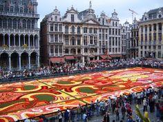La Grand Place-Brussels, Belgium