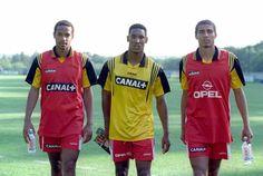 Thierry Henry, Nicolas Anelka & David Trezeguet