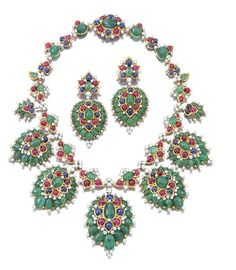 la colección de la Sra. Lily Safra, que incluye las famosas piezas de JAR,