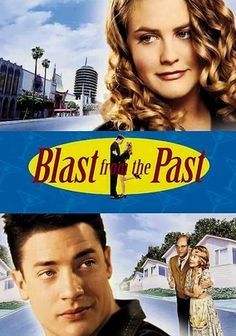Blast from the Past (1999) Following a nuclear-bomb scare in the early 1960s, eccentric inventor Calvin Webber (Christopher Walken) seals himself and his pregnant wife in a state-of-the-art underground shelter. Thirty-five years later, Calvin's son, Adam (Brendan Fraser), emerges. Venturing into the daylight for the first time in search of a potential bride, he soon meets the worldly Eve (Alicia Silverstone), who takes a shine to his naïveté.