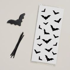 Halloween Cello Bags with Bat Tags, Set of 6 | World Market