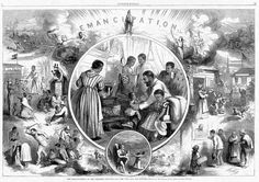 Emancipation Proclamation was signed by President lincoln, to free the slaves in to 10 states that allowed slaves.