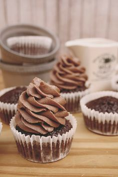 Buttercream de Chocolate y Café