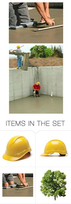 """""""Finally They Used Hand Floats to Finish the Surface, Double Checked for Level, & Sprayed on the First Coat of Sealer…the Only Thing Left After That Was to Get Yourself Out of the Hole"""" by maggie-johnston ❤ liked on Polyvore featuring art"""