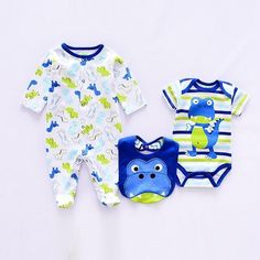 One-pieces Constructive Boys Baby Grows 0-3 And 2 Romper Suit Excellent Condition Only Worn Twice Big Clearance Sale Clothing, Shoes & Accessories