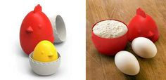 Measuring cups that'll make you want to crow.