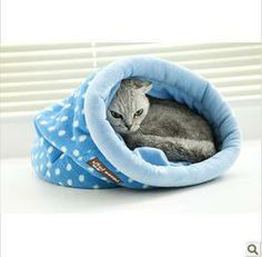Free Shipping Dog Bed New 2014 Dog House Cat House Pet Bed Cat Bed Winter Cats Drill Bags For Dog House for Cats 1PCS/LOT-in Houses, Kennels...