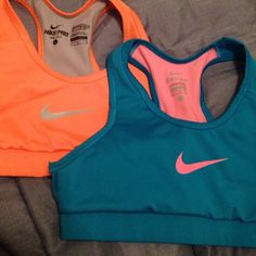 Nike kids sports bra hardly ever worn, still in good condition. Dri-fit Nike sports bra. selling both for 25$ Nike Other