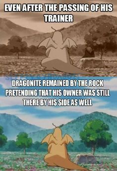 Dragonite Never Forgot, it's like the story of Hachi!