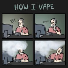 Switch to Vaping  This has happened to me!  LOL!