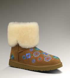 UGG® Embroidery Mid for Women   Mid Boots at UGGAustralia.com