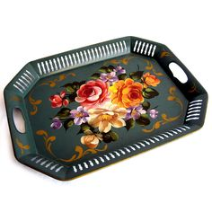 Fab.com | Tole Painted Tray I