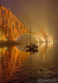 Foggy Forth Bridges