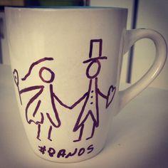 A 8 anos Deus uniu um homem imperfeito com uma mulher imperfeita, e justos nos fez o casal perfeito, um completando o outro. Obrigado Pai! www.diariodebordo.net.br #cafe #cafeina #caneca #amor #casamento #unidospordeus #umsocorpo #unidos #casal #8anos