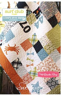 Surf Club Quilt Pattern Sweetwater - Fat Quarter Shop