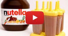 Nutella Popsicle Recipe