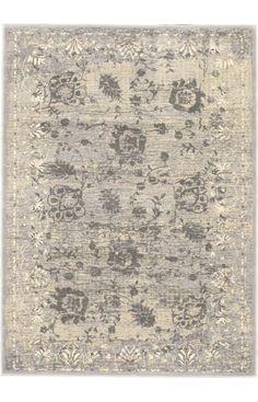 E Carpet Gallery Lotus LTS Light Grey Rug