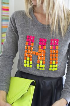 Make a Wearable Phrase with Resin Gemstones!