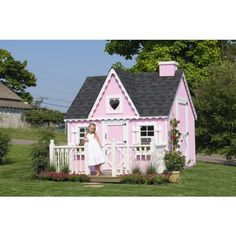 Amish Made Victorian Playhouse Kit