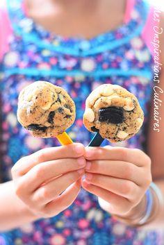 Idées goûter pour les enfants, recette pour la rentrée facile Muffins Double Chocolat, Biscuit Sans Gluten, Biscuit Oreo, Samar, Chocolate Recipes, Bon Appetit, Cake Pops, Cookies Et Biscuits, Tea Time