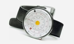 Based on the design that was mathematically popular from the 17th century until about the 1970s, the Klokers KLOK-01 watch pays homage to the slide rule with three rotating disks that display time …