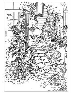 Coloring pages and other patterns