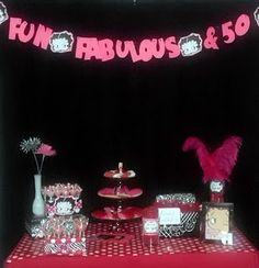Betty Boop 50th Birthday!  Cute idea for a certain someone's birthday party