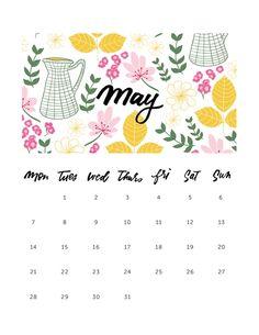 mayıs 2018 may printable