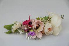 Peineta de flores de Bibiana La lía  Venta en Something Old