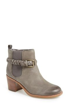Free shipping and returns on Sperry Top-Sider® 'Liberty' Leather Bootie (Women) at Nordstrom.com. Distressed leather and a stacked heel add to the rustic romance of a Chelsea boot with a trend-right braided belt encircling the ankle.