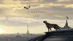 L'Odyssée de Cartier, Cartier's 2012 animation, is much more mysterious, & quite amazing