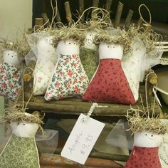Handmade Angel Ornaments by The T-Cozy, via Flickr