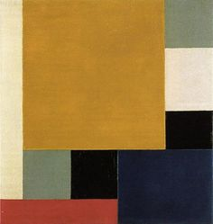Theo van Doesburg (Dutch, Abstract Painting, Neoplasticism, 1883-1931), Composition XXII, 1922, Stedelijk Van Abbemuseum, Eindhoven, The Netherlands