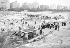 As the homeless population escalated uncontrollably, shantytowns known as Hoovervilles, named after then-president Herbert Hoover, began popping up near urban areas.