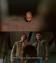 well, that's super disturbing.