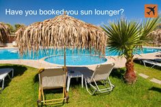 Have you #booked your sun lounger yet? Be quick as other countries get the same booking system as @ThomasCookUK customers! The #holiday fun continues!