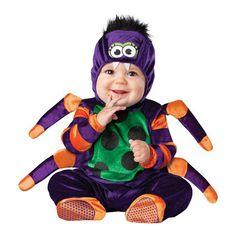 INCHARACTER COSTUMES REF: 16010 ARAñA BEBE - Incluye traje especial para que cambies el pañal de tu bebe fácilmente, capucha con ojitos y colmillos, patas de araña y botines antideslizantes. PRECIO COLOMBIA: 115.000