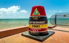 Diese Boje markiert den südlichsten Punkt der USA © Shutterstock.com